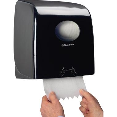 Aquarius Handtuchspender 31,8 x 34,3 x 19 cm (B x H x T) Kunststoff schwarz