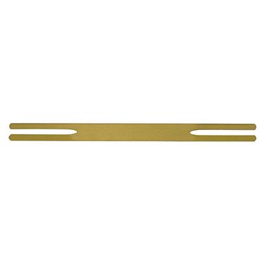 Abheftstreifen 5 x 165 mm (B x L) Metall messing