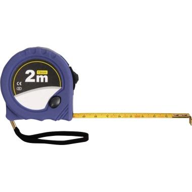 BERNSTEIN Maßband 13 mm x 2 m (B x L) Kunststoff/Stahl blau
