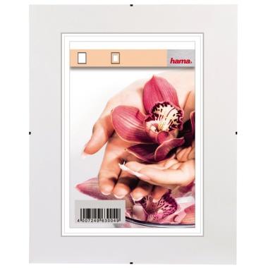 Hama Bilderrahmen Clip-Fix 21 x 29,7 cm (B x H) 15 x 21 cm (B x H) Polystyrol transparent
