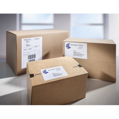 Avery Zweckform Adressetikett 102 x 152 mm (B x H) Papier weiß 750 Etik./Rl.