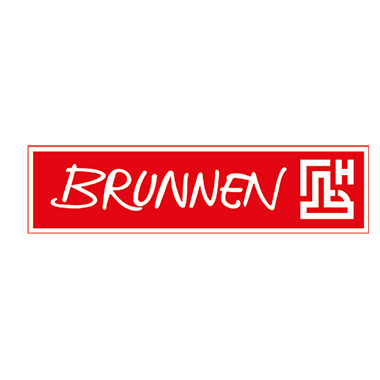 BRUNNEN Briefblock DIN A4 kariert 90g/m² grau weiß 50 Bl.