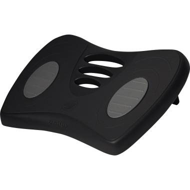 UNILUX Fußstütze Chrysalis 42 x 32 cm (B x T) ABS Kunststoff schwarz