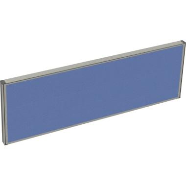 Tischtrennwand System 41 Schallabsorberklasse: B 1.200 x 400 x 41 mm (B x H x T) Lucia Stoff blau