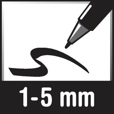 edding Flipchartmarker 32 EcoLine 1-5mm schwarz