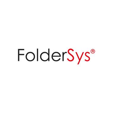 FolderSys Sammelhülle DIN A4 quer Polypropylen rot transparent 10 St./Pack.