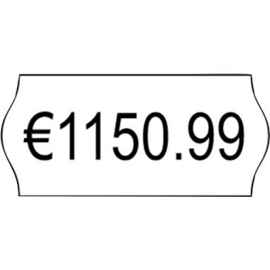 Avery Zweckform Auszeichnungsetikett 26 x 12 mm (B x H) Papier weiß 1.500 Etik./Rl. 10 Rl./Pack. 15.
