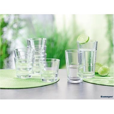 Arcoroc Longdrinkglas STACK UP 210ml Glas glasklar 6 St./Pack.