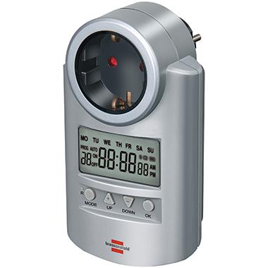 brennenstuhl® Zeitschaltuhr Primera-Line 1min silber