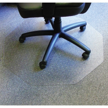 Cleartex Bodenschutzmatte 9mat® 96 x 98 cm (B x T) Polycarbonat transparent