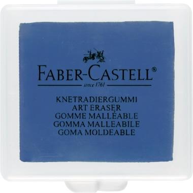 Faber-Castell Knetgummiradierer ART ERASER Kohle, Pastell 3,5 x 1 x 4 cm (B x H x L) Knetgummi pink,