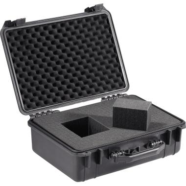 BASETech Werkzeugkoffer 360 x 175 x 460 mm (B x H x T) 25kg inkl. Schaumstoffeinsatz Polypropylen sc